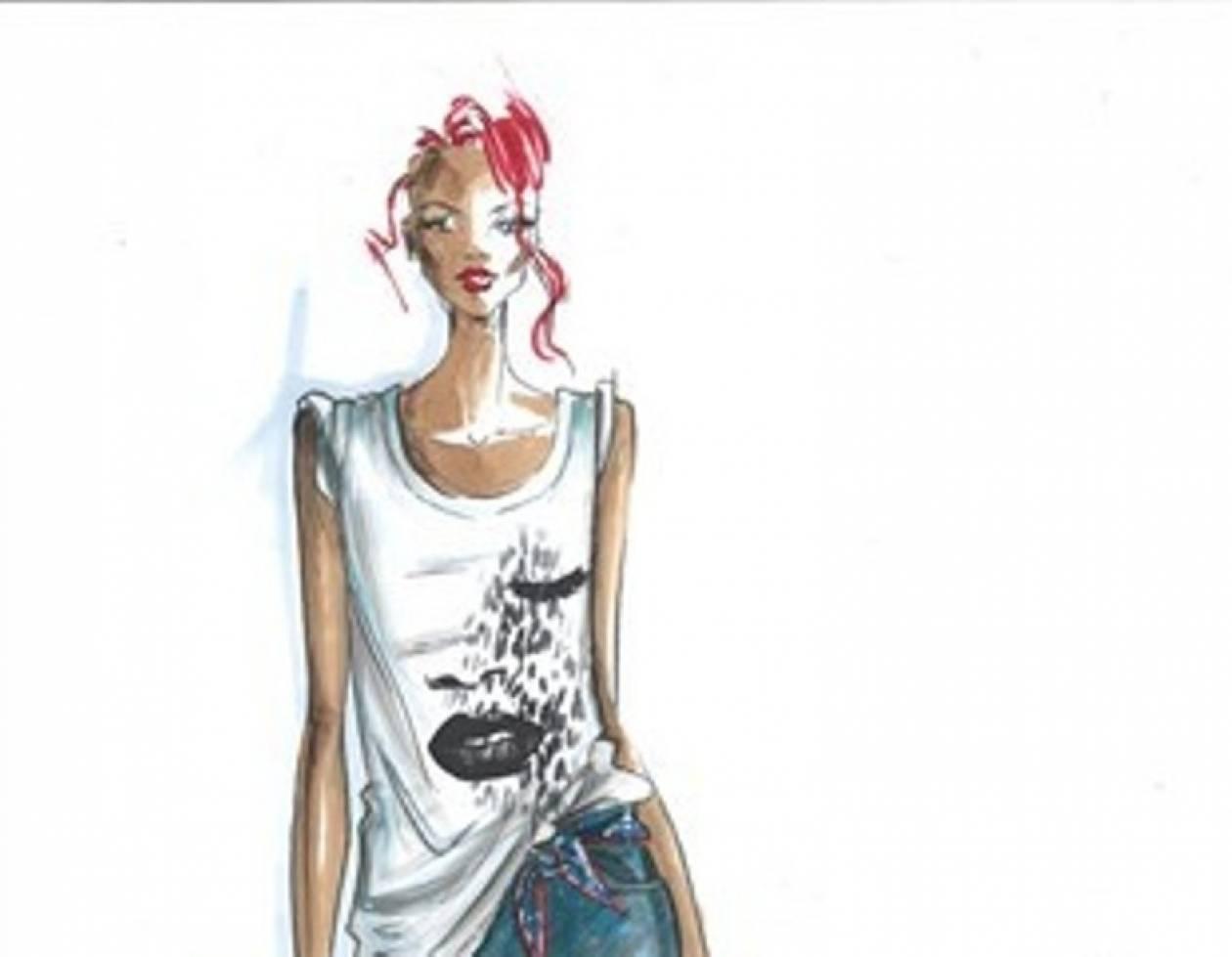 H Rihanna σχεδιάζει για τον Armani