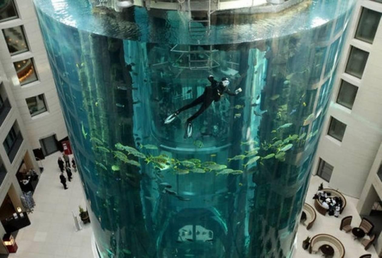 Το μεγαλύτερο στρογγυλό ενυδρείο στον κόσμο