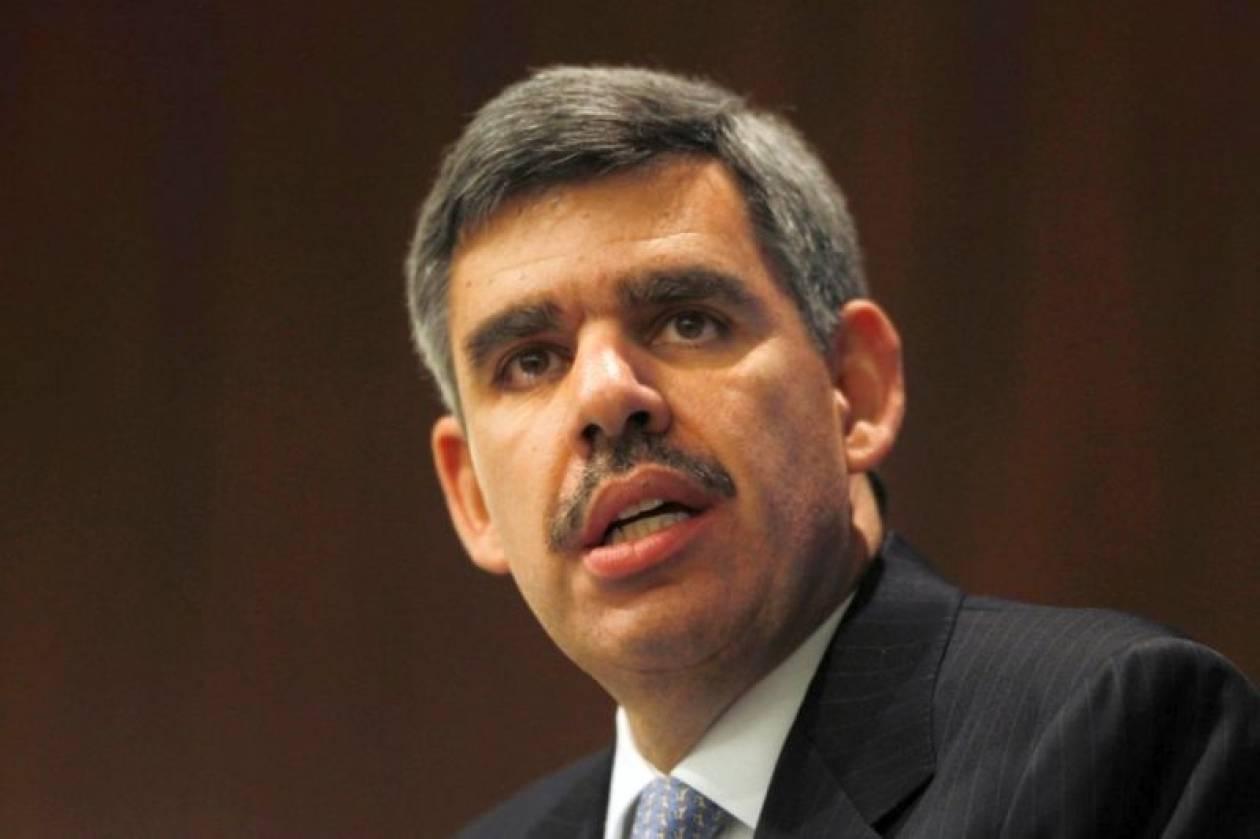 Ελ-Εριάν: Έξω από το τείχος του πυρήνα της ευρωζώνης η κρίση
