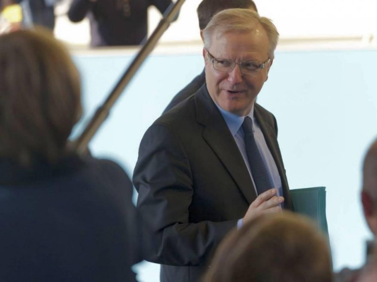 Ο. Ρεν: Η ευρωζώνη είτε θα ενισχυθεί ή θα αποσυντεθεί