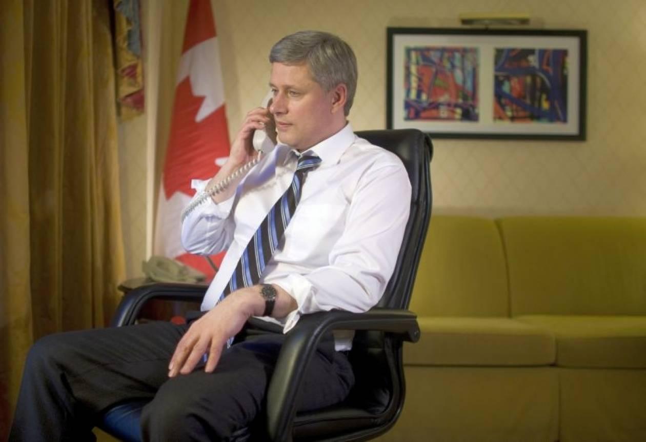 Ο Καναδάς ανησυχεί για την ευρωπαϊκή κρίση