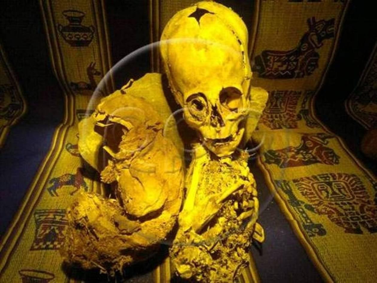 Βρέθηκε τριγωνικό κρανίο αρχαίου «εξωγήινου»
