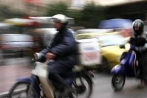 Θύμα ληστείας έπεσε ντελιβεράς στο Ζεφύρι