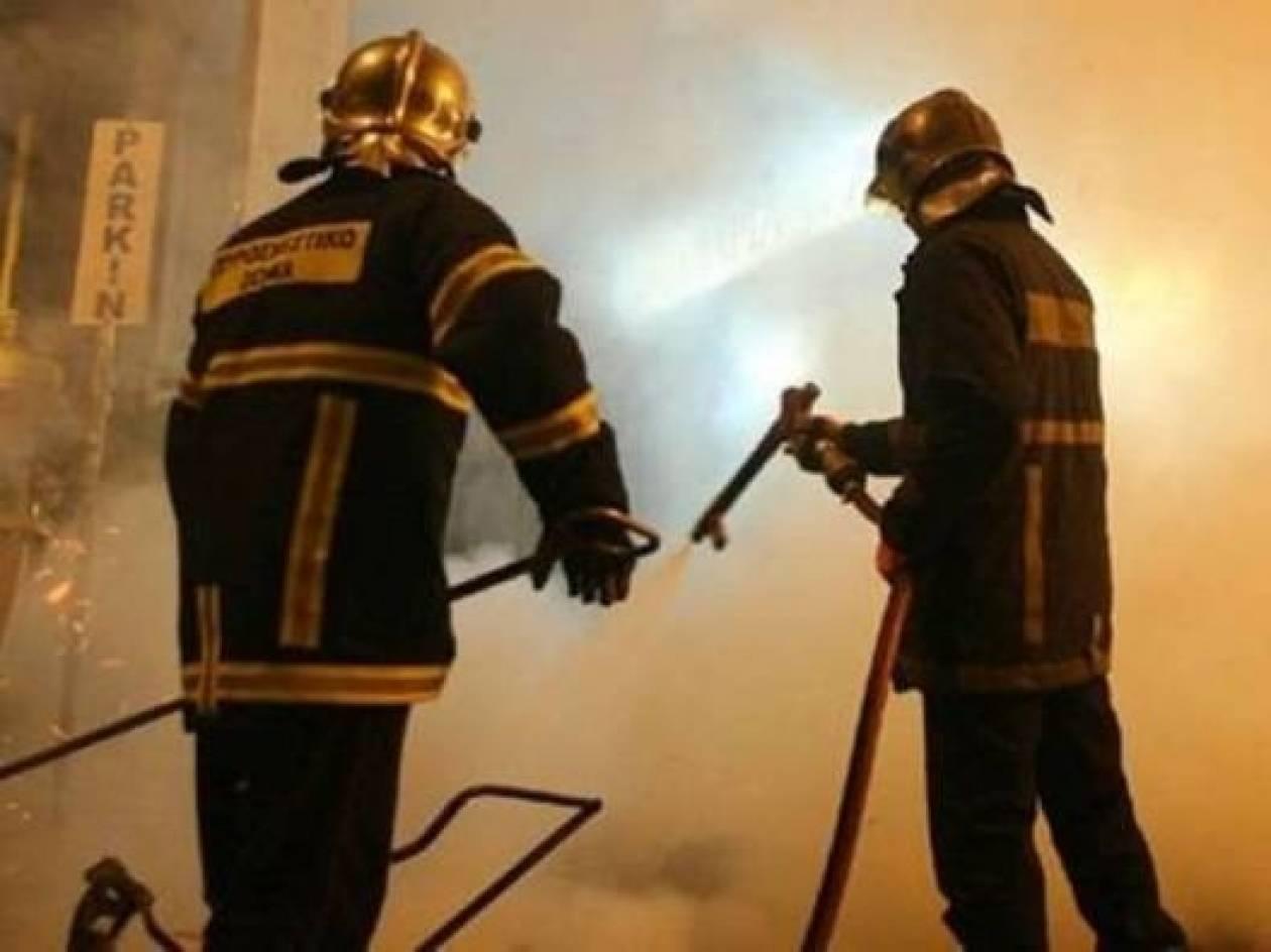 Πυρκαγιά σε όχημα στο Περιστέρι