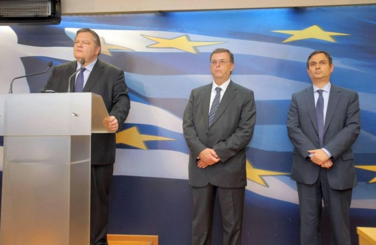 O Σαχινίδης... επαίρεται για την πολιτική του Μνημονίου