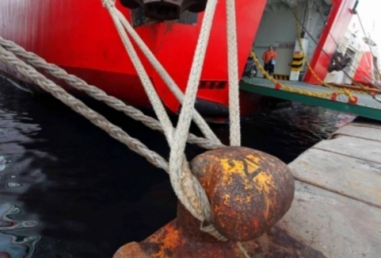 Δεμένα τα πλοία την 1η Δεκεμβρίου