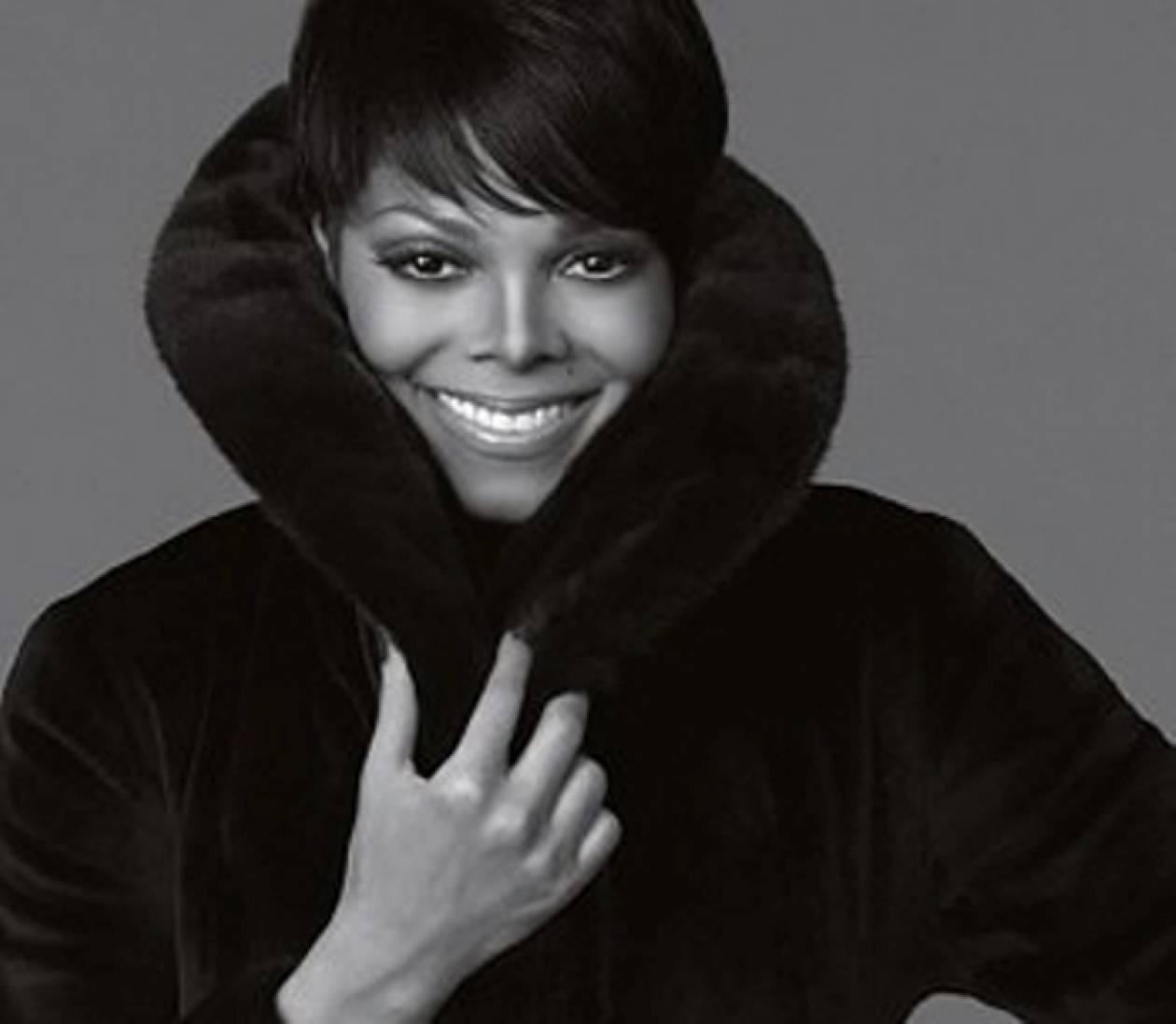 H Janet Jackson σχεδιάζει γούνες