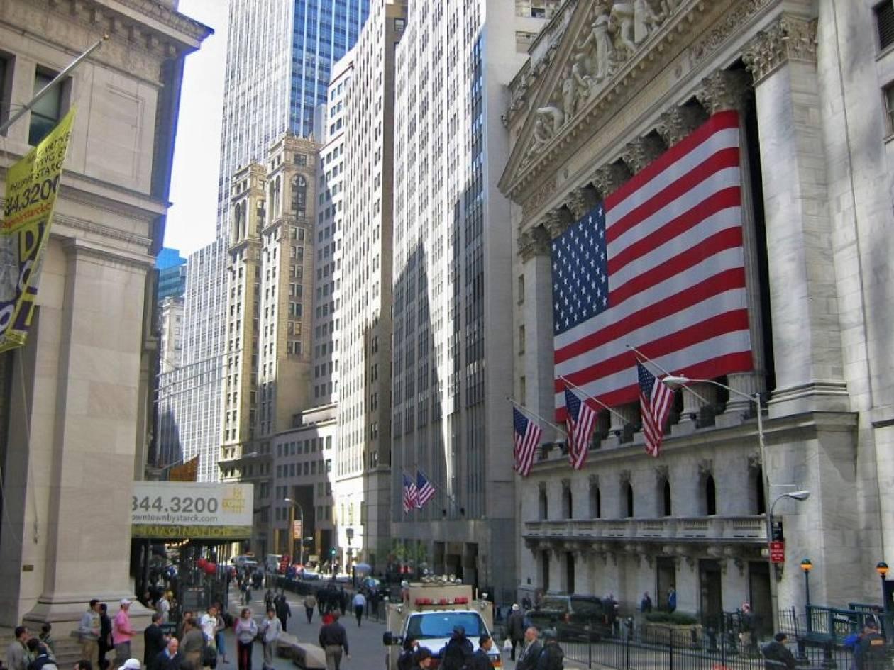 Στο «κόκκινο» έκλεισε η Wall Street