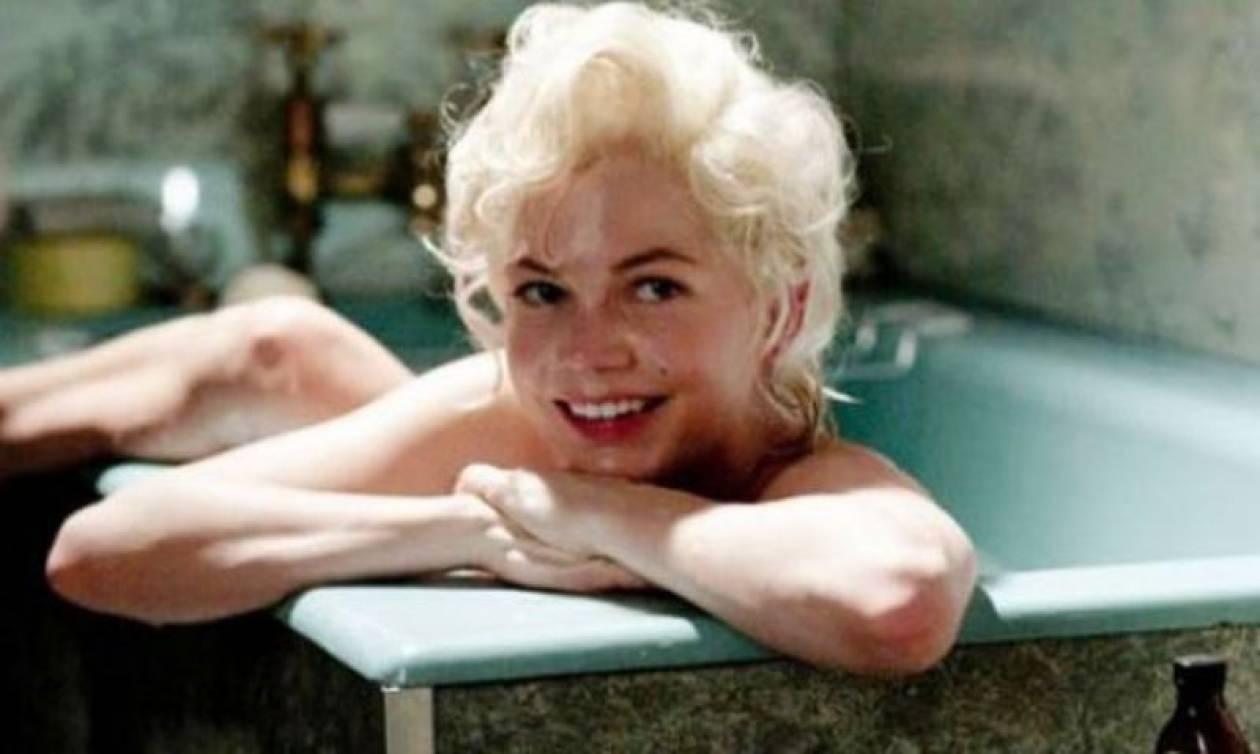 Η Michelle Williams υποδυόταν τη Monroe και στο σπίτι