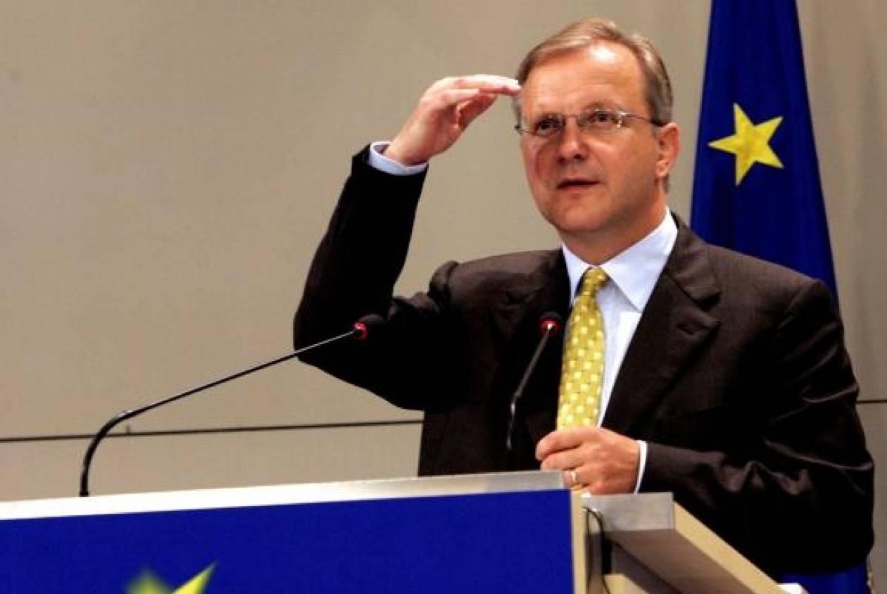 Όλι Ρεν: Το ευρώ δε θα καταρρεύσει