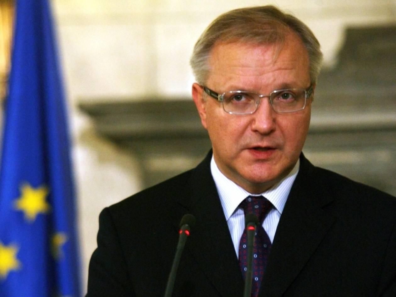 Όλι Ρεν: «Ασφαλώς και δεν βλέπω να καταρρέει το ευρώ»