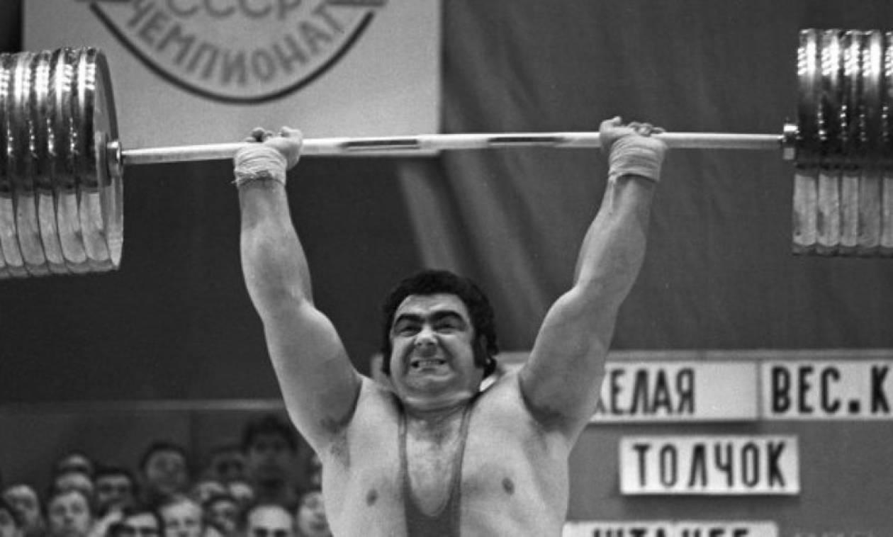 Πέθανε ο θρυλικός αρσιβαρίστας Αλεξέγεφ