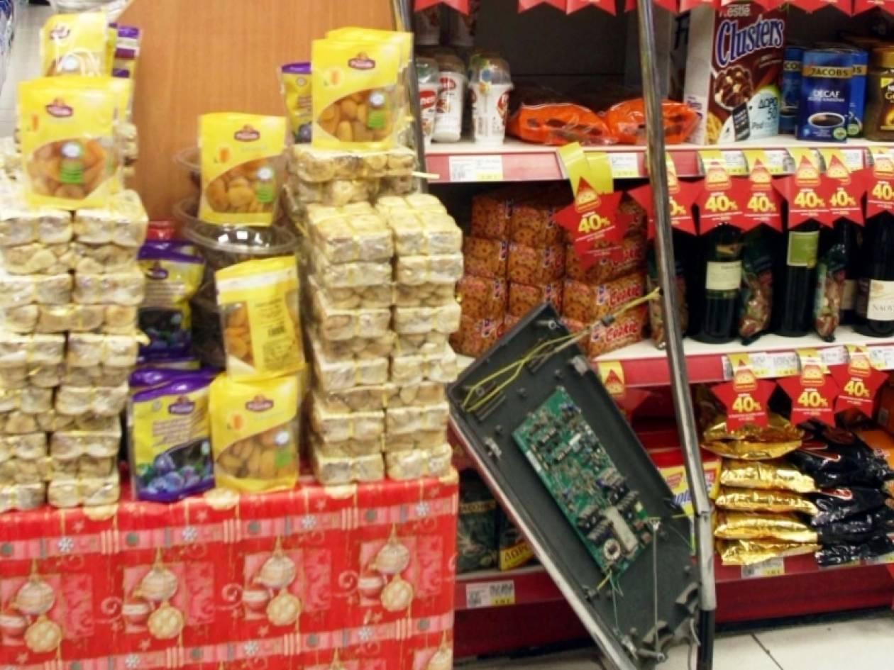 Ληστεία σε σούπερ μάρκετ στον Κορυδαλλό