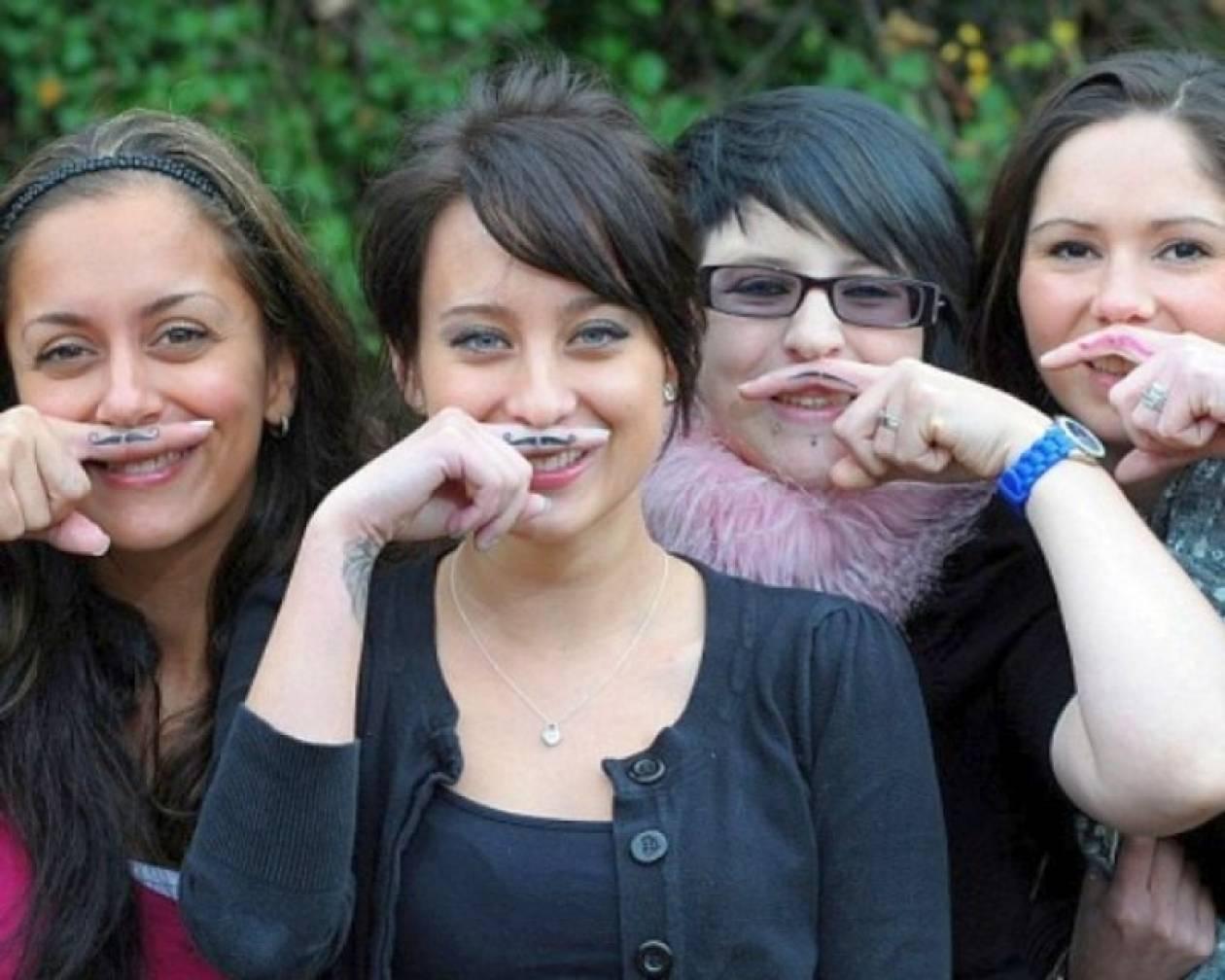 Γιατί οι γυναίκες... αφήνουν μουστάκι;