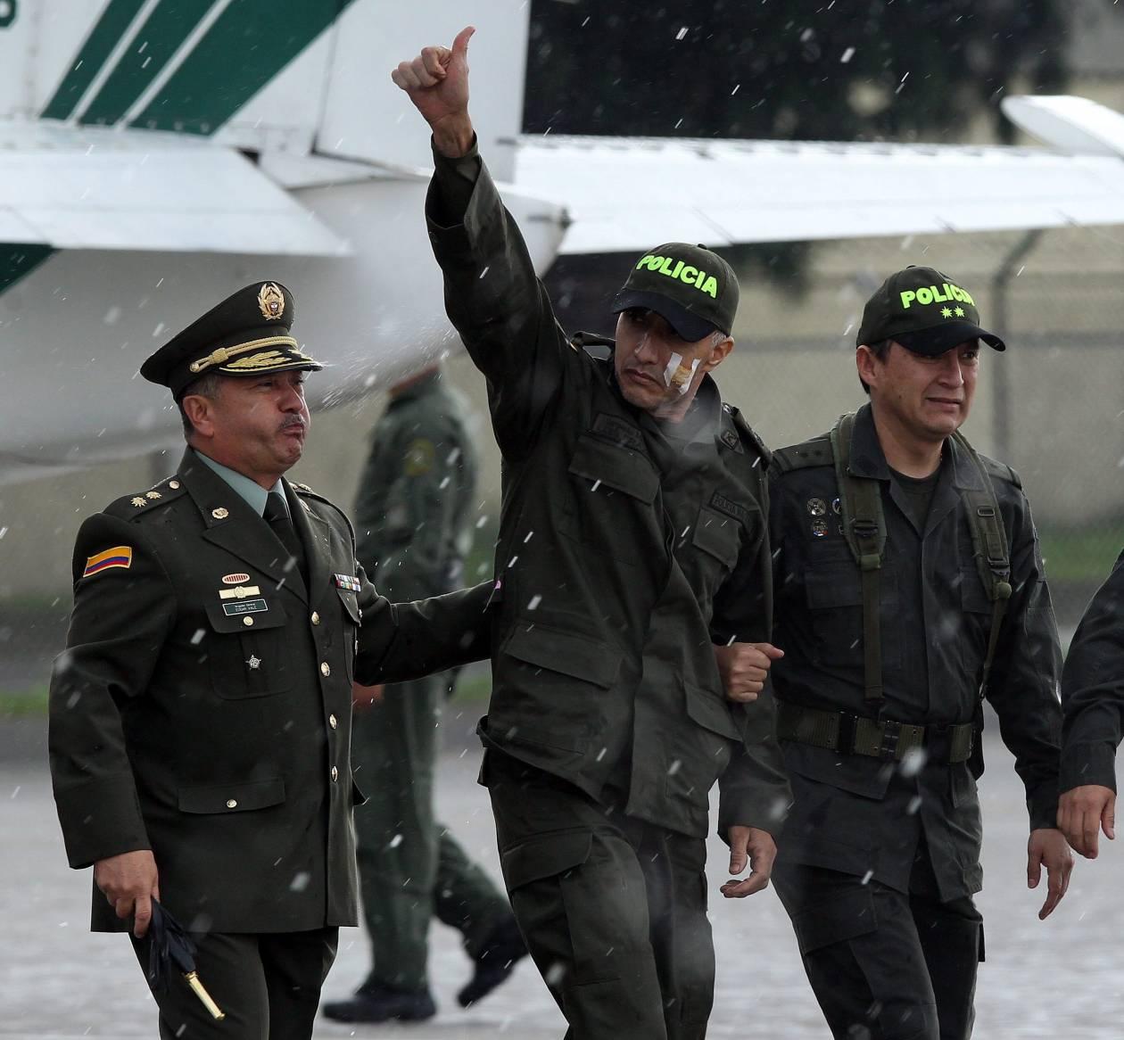 Κολομβία: Επέστρεψε σπίτι του όμηρος των FARC