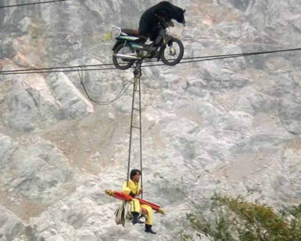 Τα δέκα πιο επικίνδυνα ακροβατικά πάνω σε σκοινί!