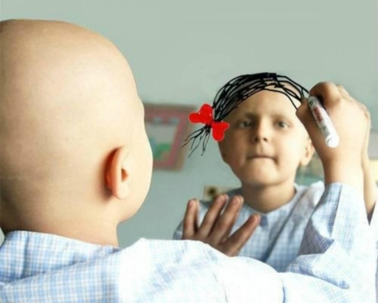 Η φωτογραφία ενός κοριτσιού με καρκίνο που συγκίνησε το Twitter!