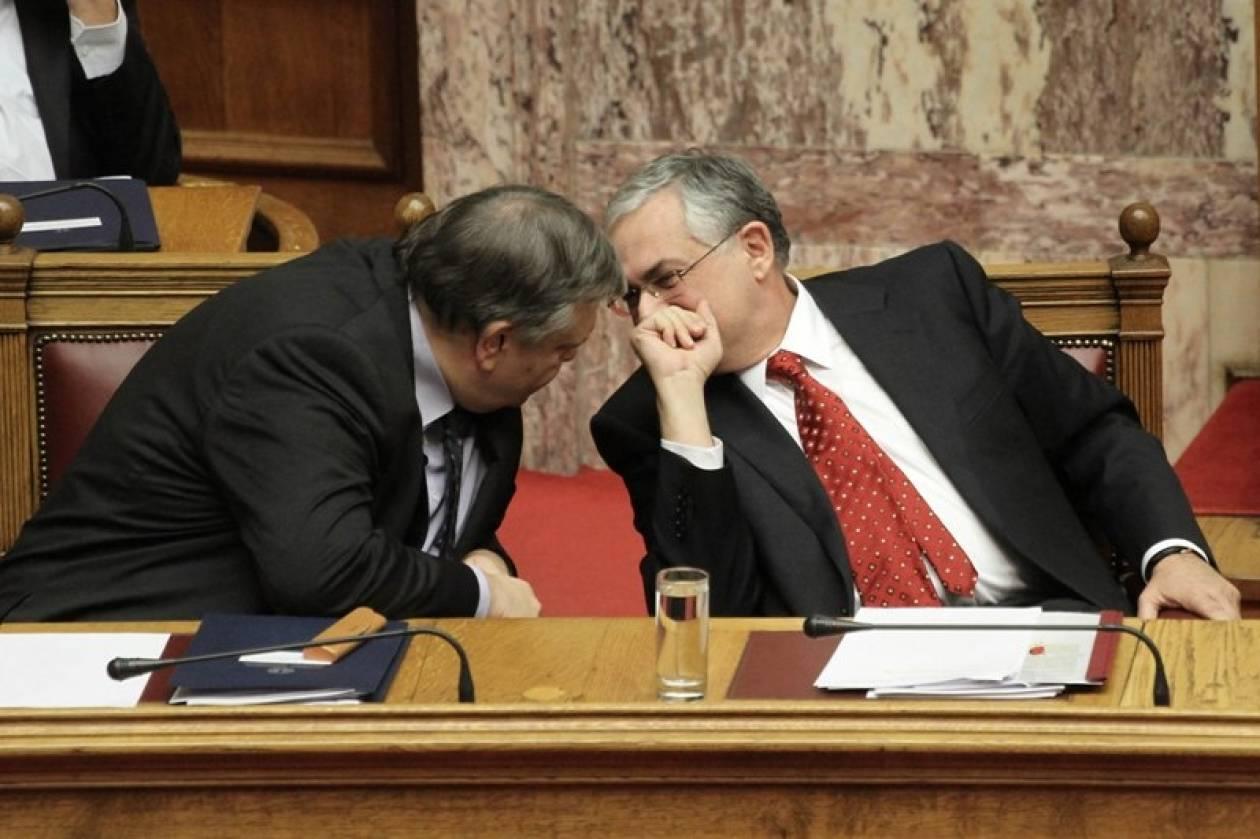 Συνάντηση Παπαδήμου – Βενιζέλου ενόψει Eurogroup