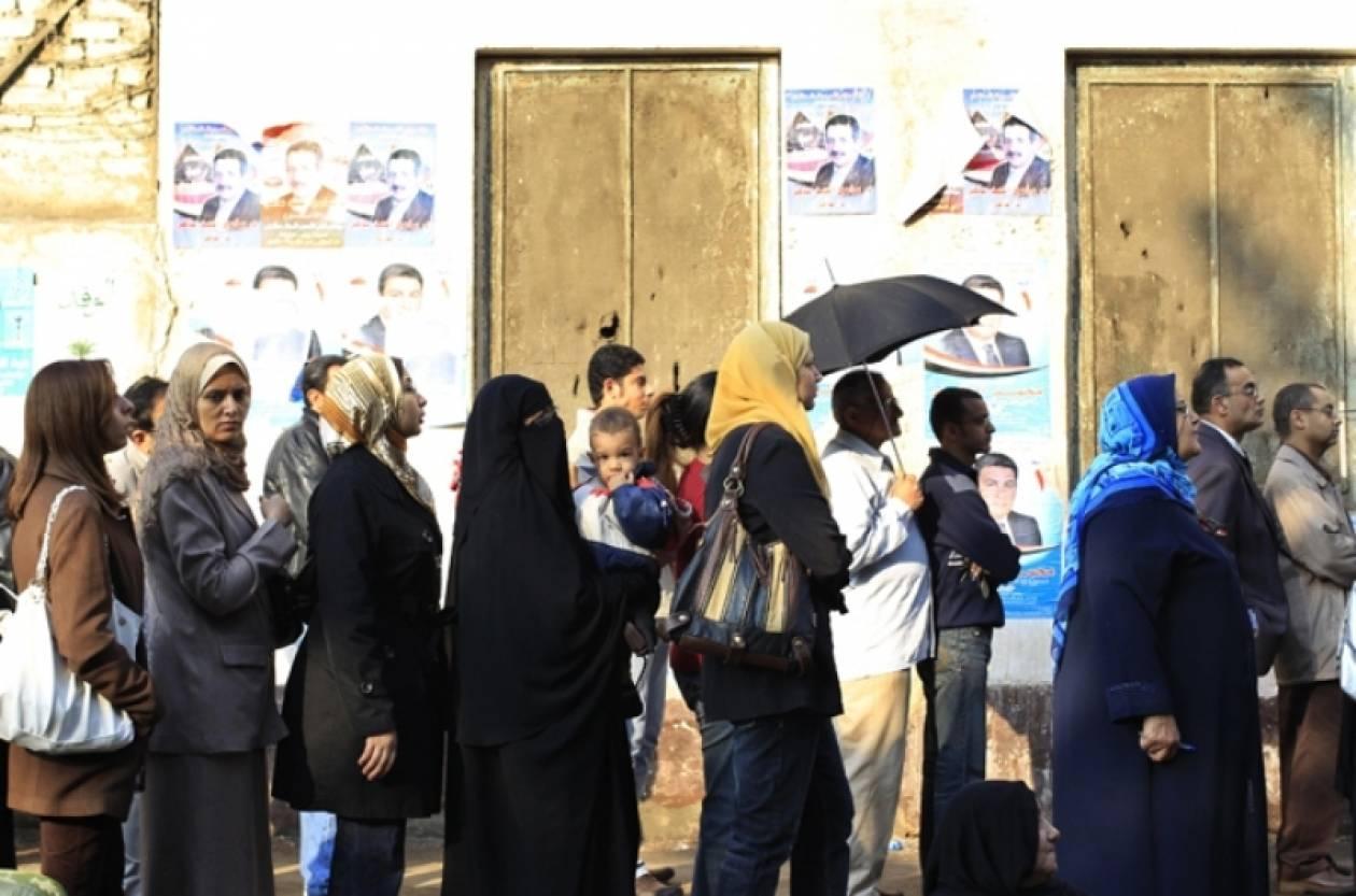 Υψηλή συμμετοχή στις αιγυπτιακές εκλογές