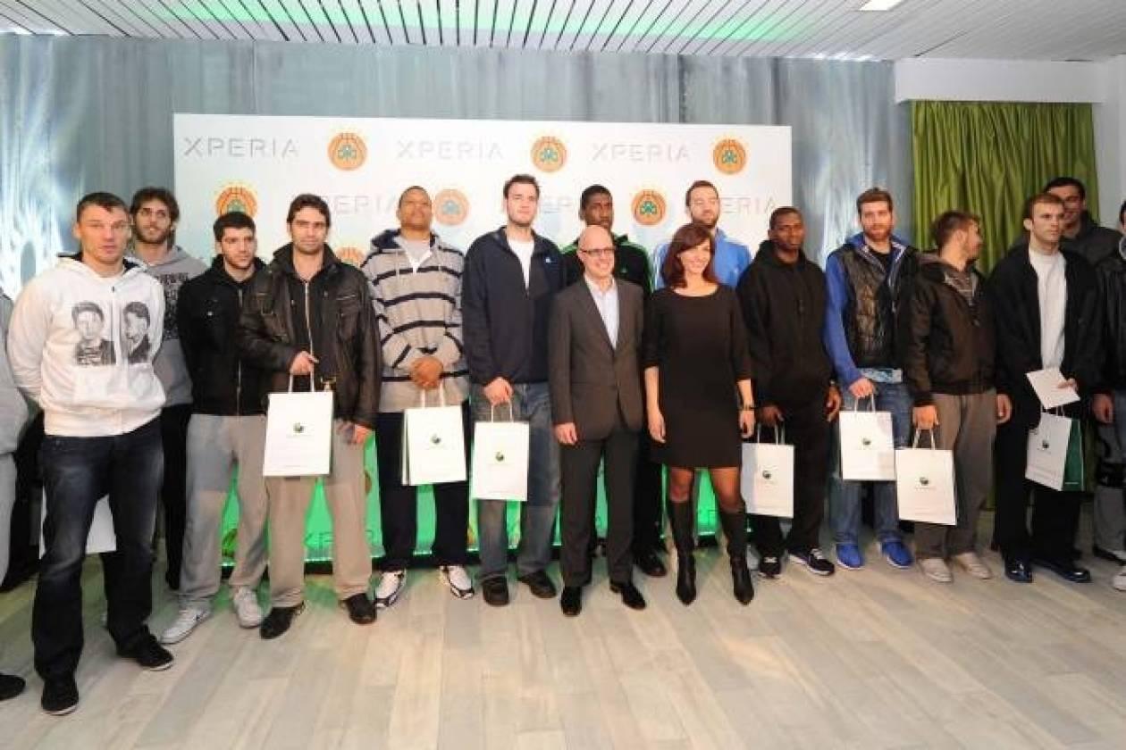 Παναθηναϊκός-Sony Ericsson… συνεργασία πρωταθλητών