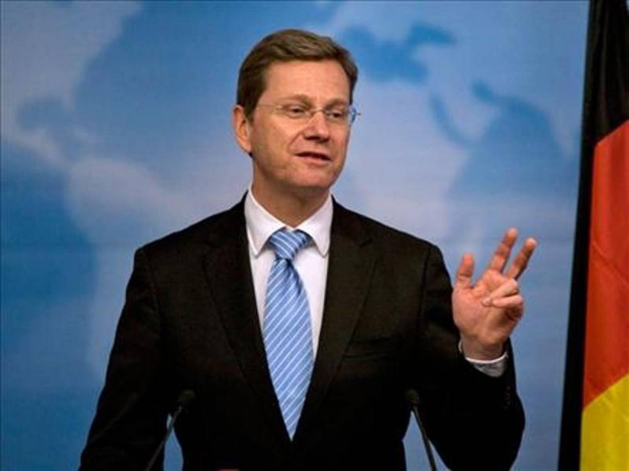 Βεστερβέλε: Η  Γερμανία θα προχωρήσει με όσους θέλουν