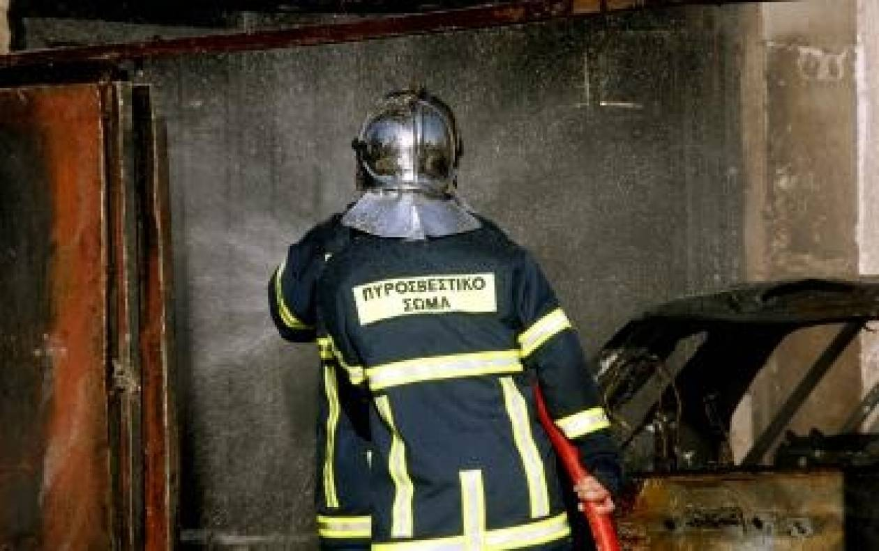 Φωτιά σε μηχάνημα ΑΤΜ στην Θεσσαλονίκη