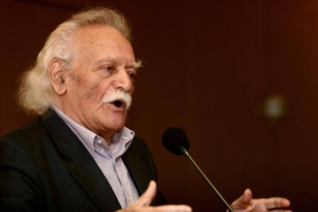 Συνεργασία των δυνάμεων της Αριστεράς ζητά ο Μ. Γλέζος
