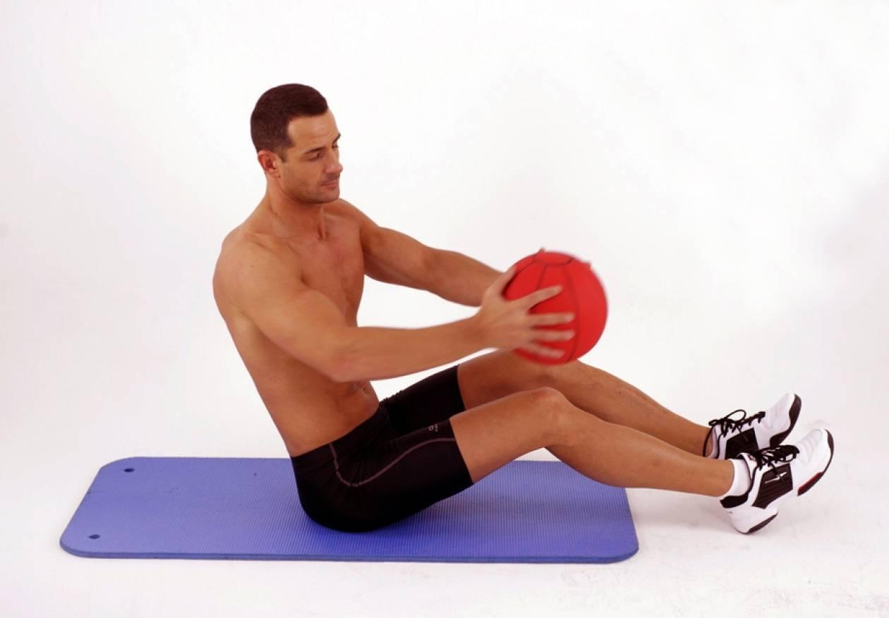Η πιο απλή άσκηση για πλάγιους κοιλιακούς