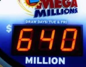 Τρεις οι νικητές των 640 εκατ. δολ του Mega Millions
