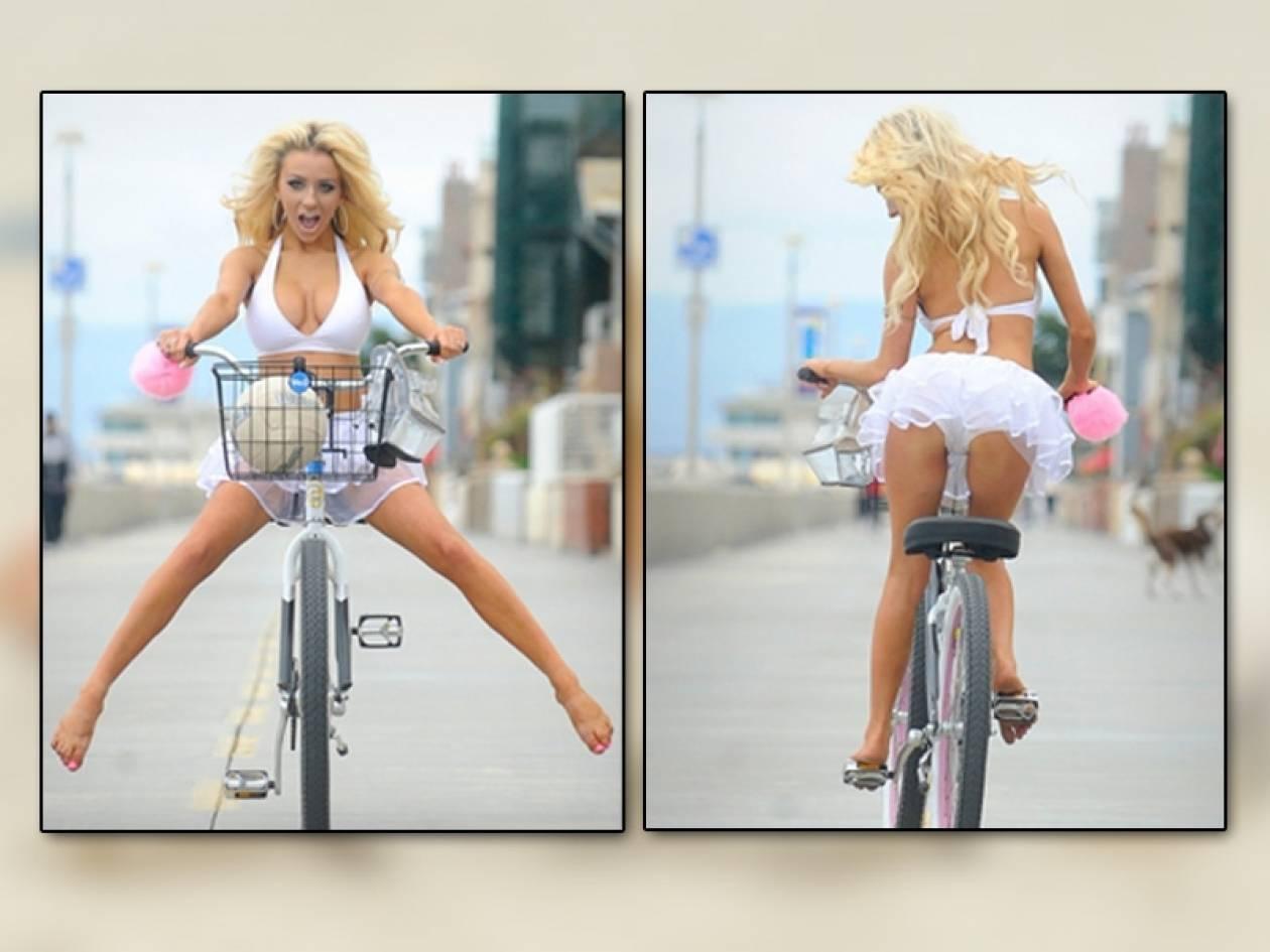 Ονειρεύονται να γίνουν το ποδήλατό της