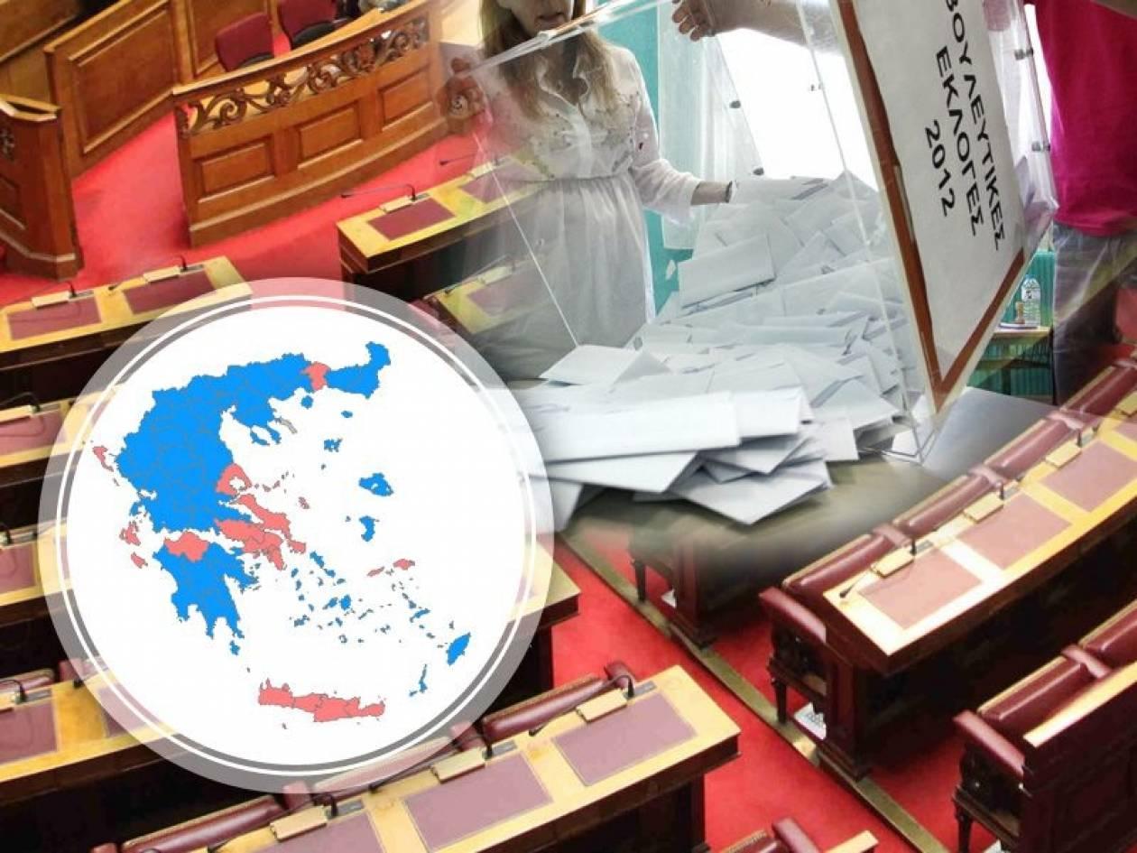 Εκλογές 2012: Ποιοι εκλέγονται βουλευτές