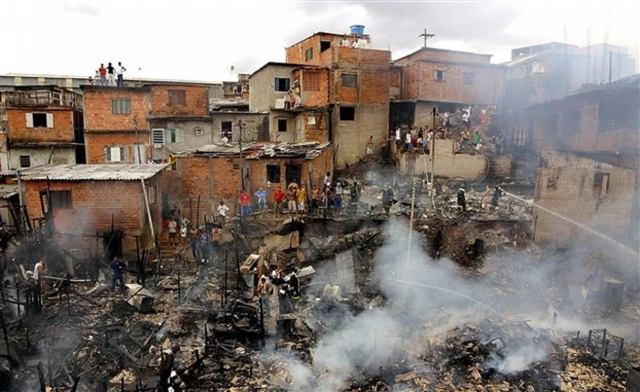 Βραζιλία: Ταραχές σε φαβέλα στο Ριο ντε Ζανέιρο