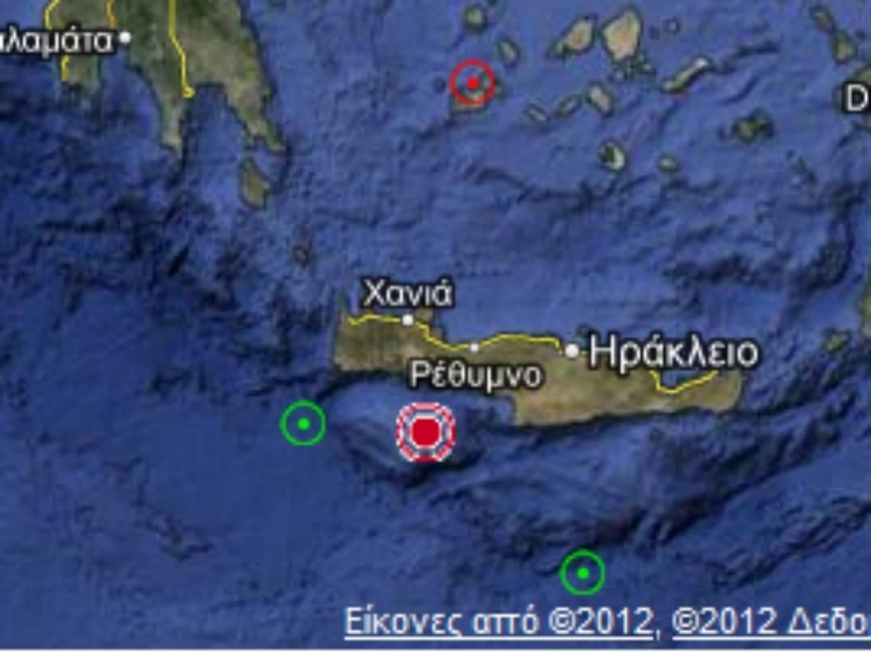 Γεωδυναμικό Ινστιτούτο: 5,3 ο σεισμός στην Κρήτη