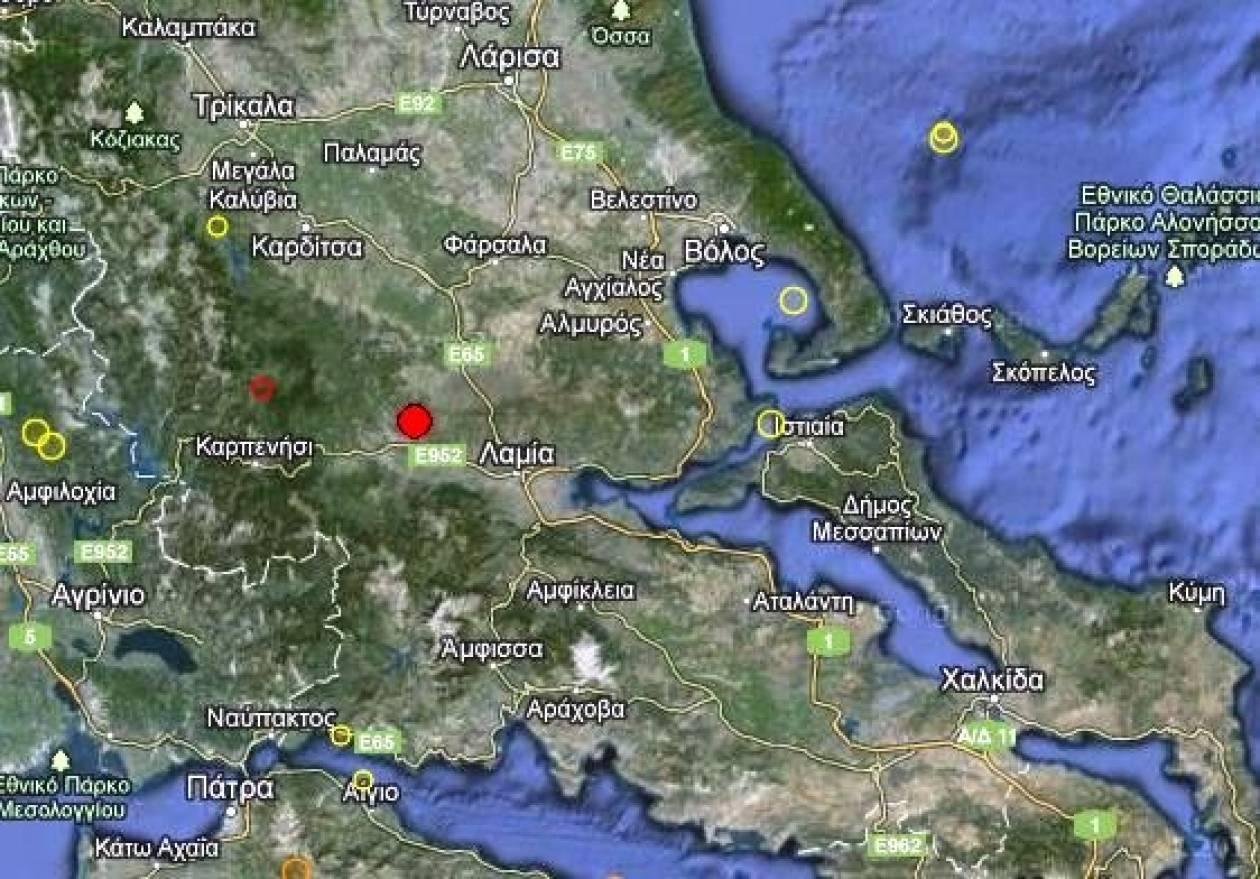 Σεισμός 3,7 Ρίχτερ στη Φθιώτιδα