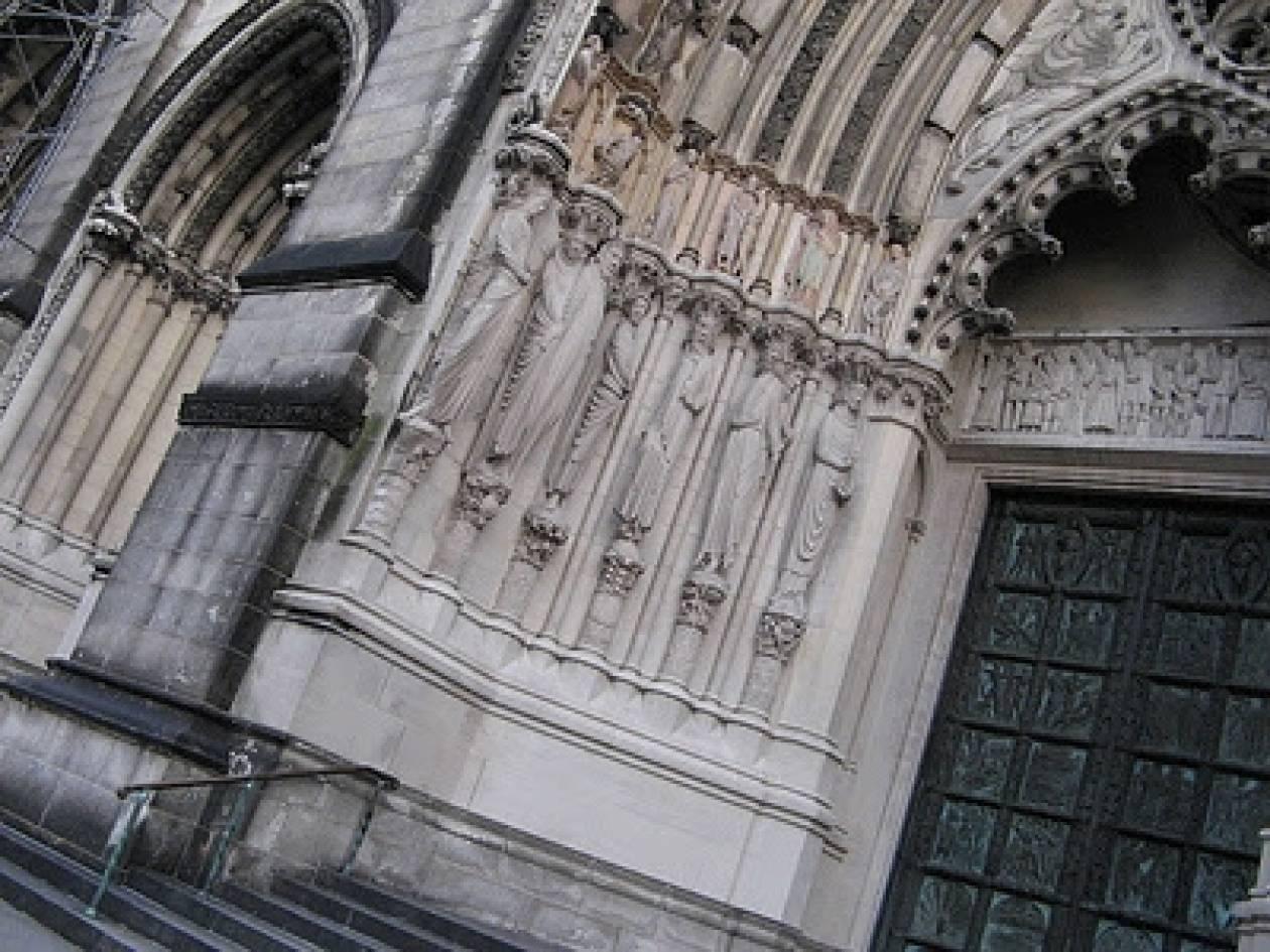 Μασονικά «προφητικά μηνύματα» σε Καθεδρικό ναό της Ν.Υόρκης;