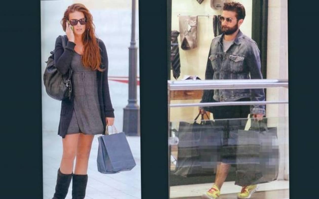 Σίσσυ Χρηστίδου-Θοδωρή Μαραντίνης: Shopping-time για το ζευγάρι!