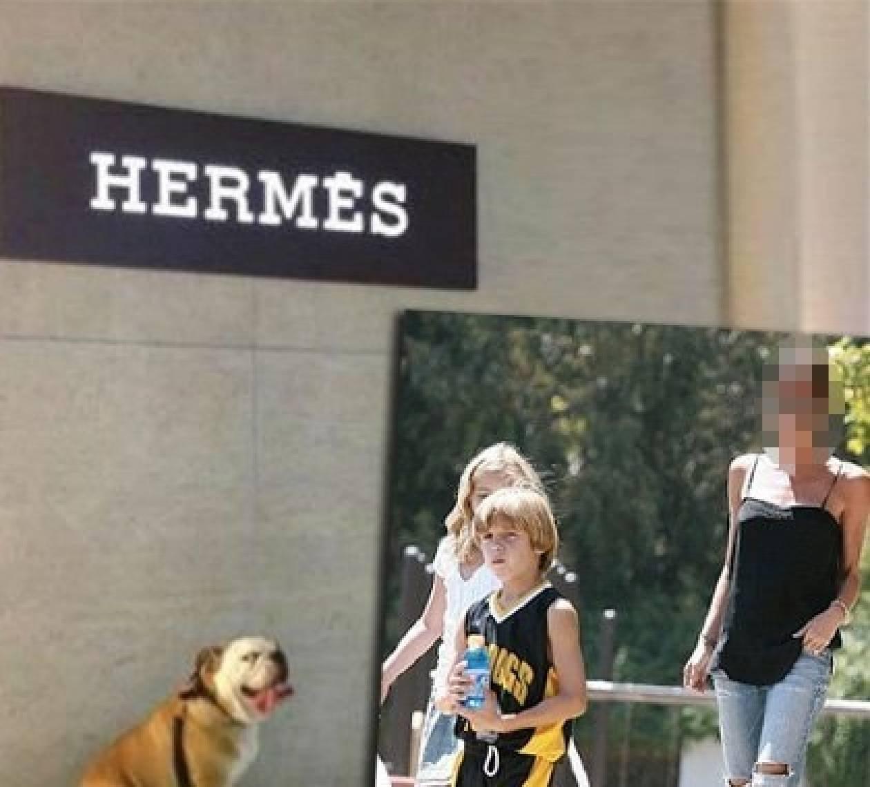 Ποιας διάσημης star ο σκύλος ψωνίζει από τον οίκο Hermes;