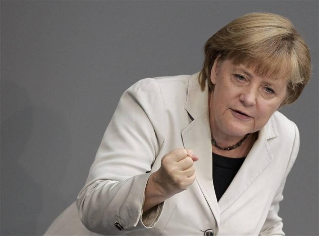 Μέρκελ: Η βοήθεια στην Ελλάδα είναι και για το συμφέρον της Γερμανίας