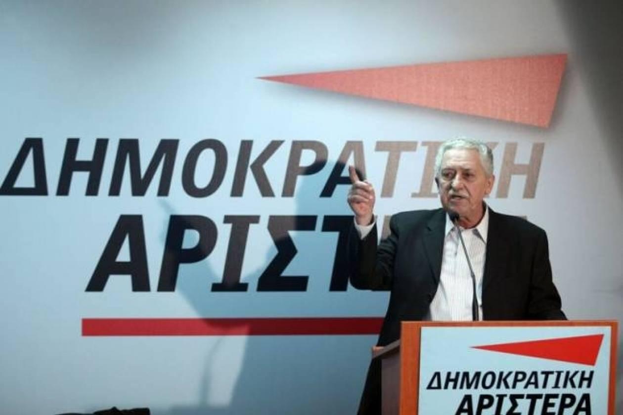 Φ. Κουβέλης: Δεν υπάρχει ακόμα κατάληξη για το φορολογικό
