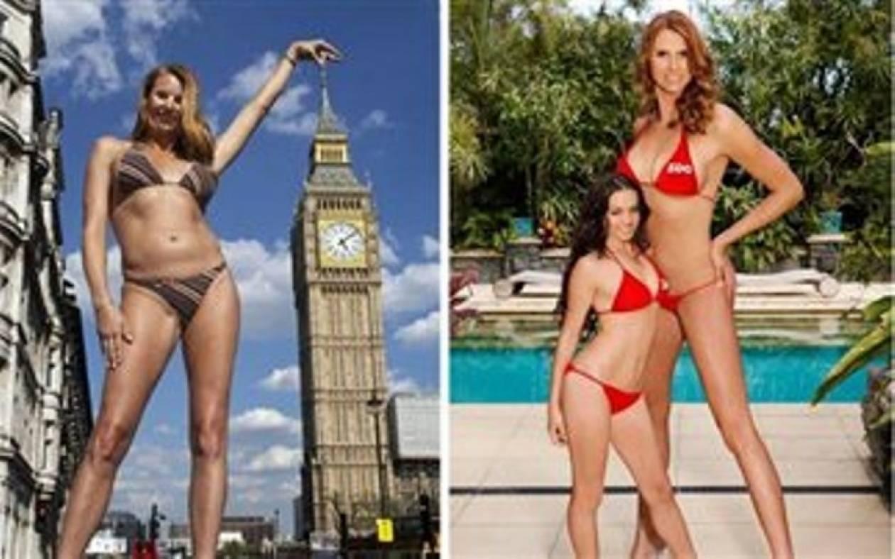 Πως είναι το ψηλότερο μοντέλο στον κόσμο(pics)