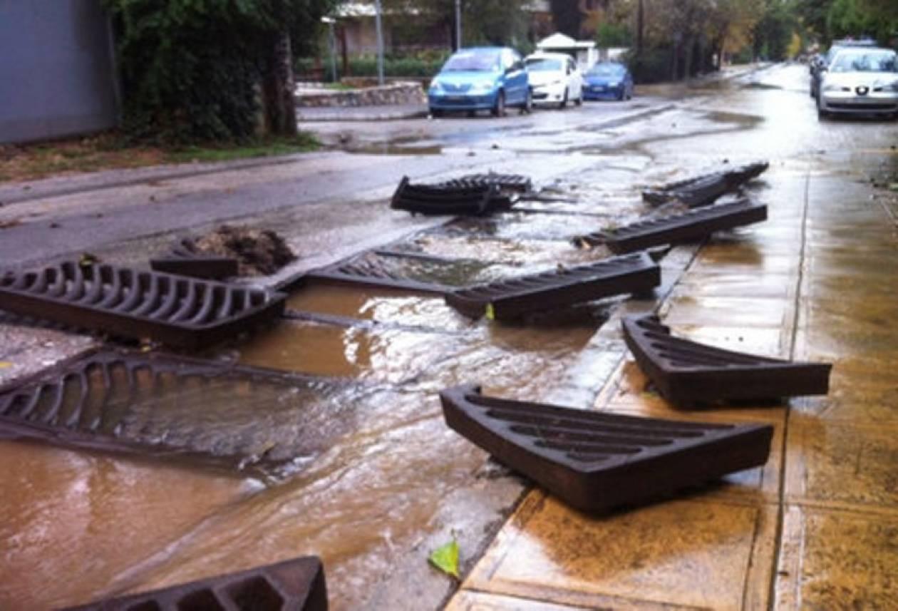 Πλημμύρισαν σπίτια και ξεριζώθηκαν σπίτια στα Βόρεια