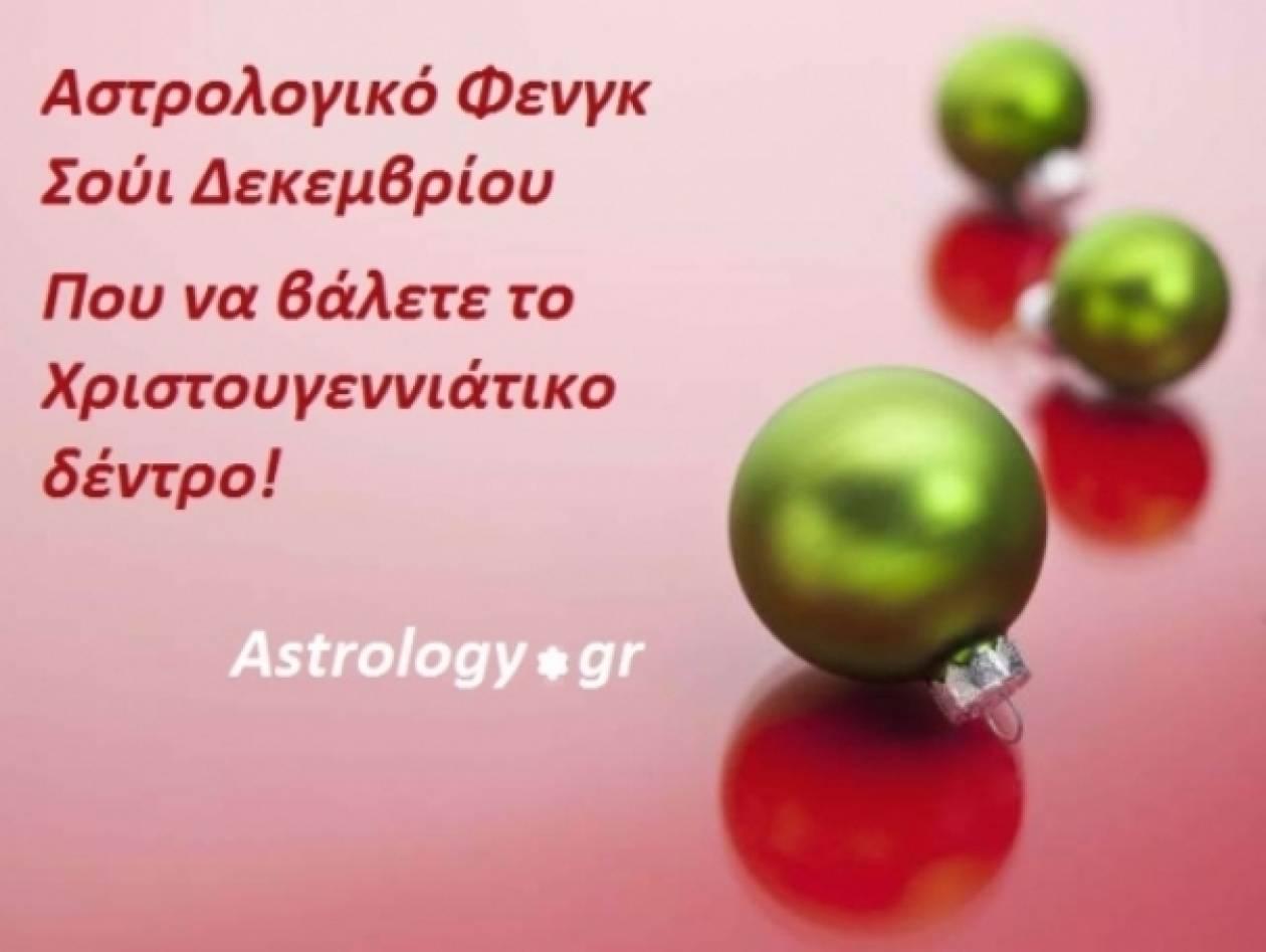 Αστρολογικό Φενγκ Σούι - Οι κατευθύνσεις του Δεκεμβρίου