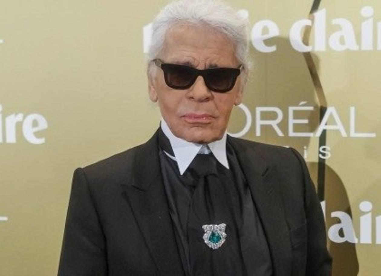 Ο Karl Lagerfeld φωτογραφίζει έπιπλα