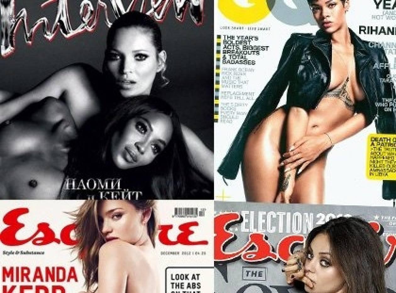 Οι πιο σέξι φωτογραφήσεις του 2012
