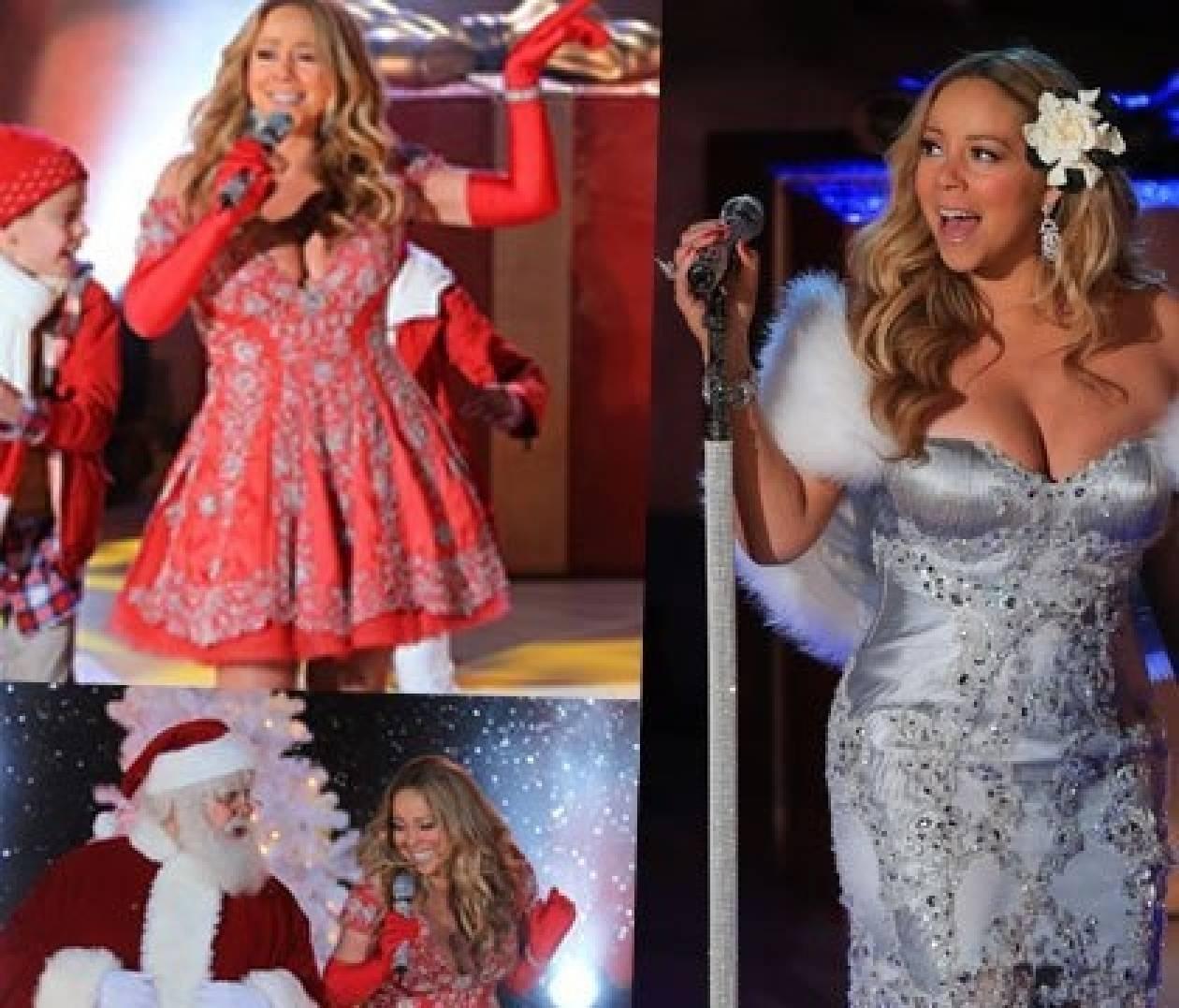 Mariah Carey: δείτε τη στην πιο κακόγουστη εμφάνισή της