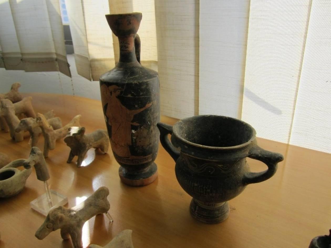 Eπιστρέφουν «σπίτι τους» τα κλεμμένα της Ολυμπίας
