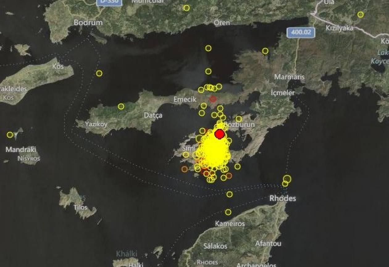 Σεισμός 3,9 Ρίχτερ στη Σύμη