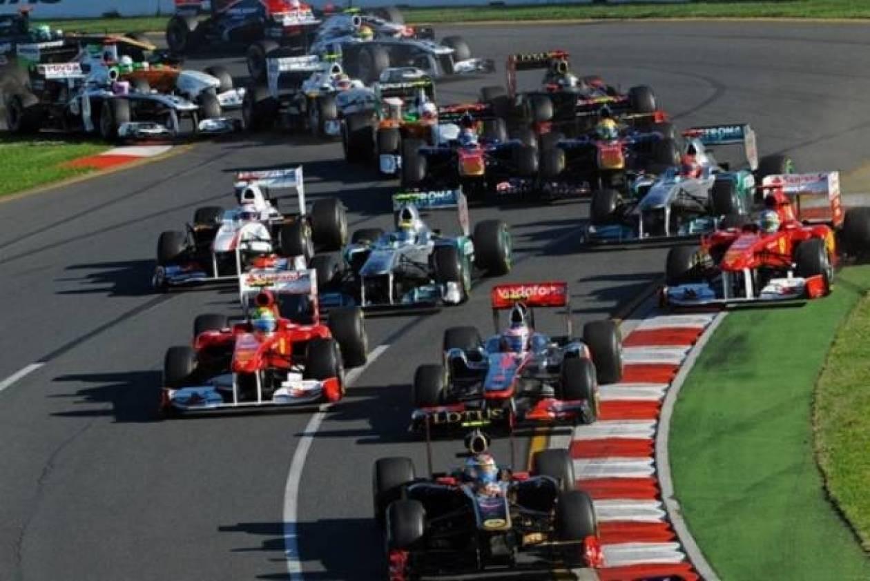 Formula 1: Οι συμμετοχές του 2013