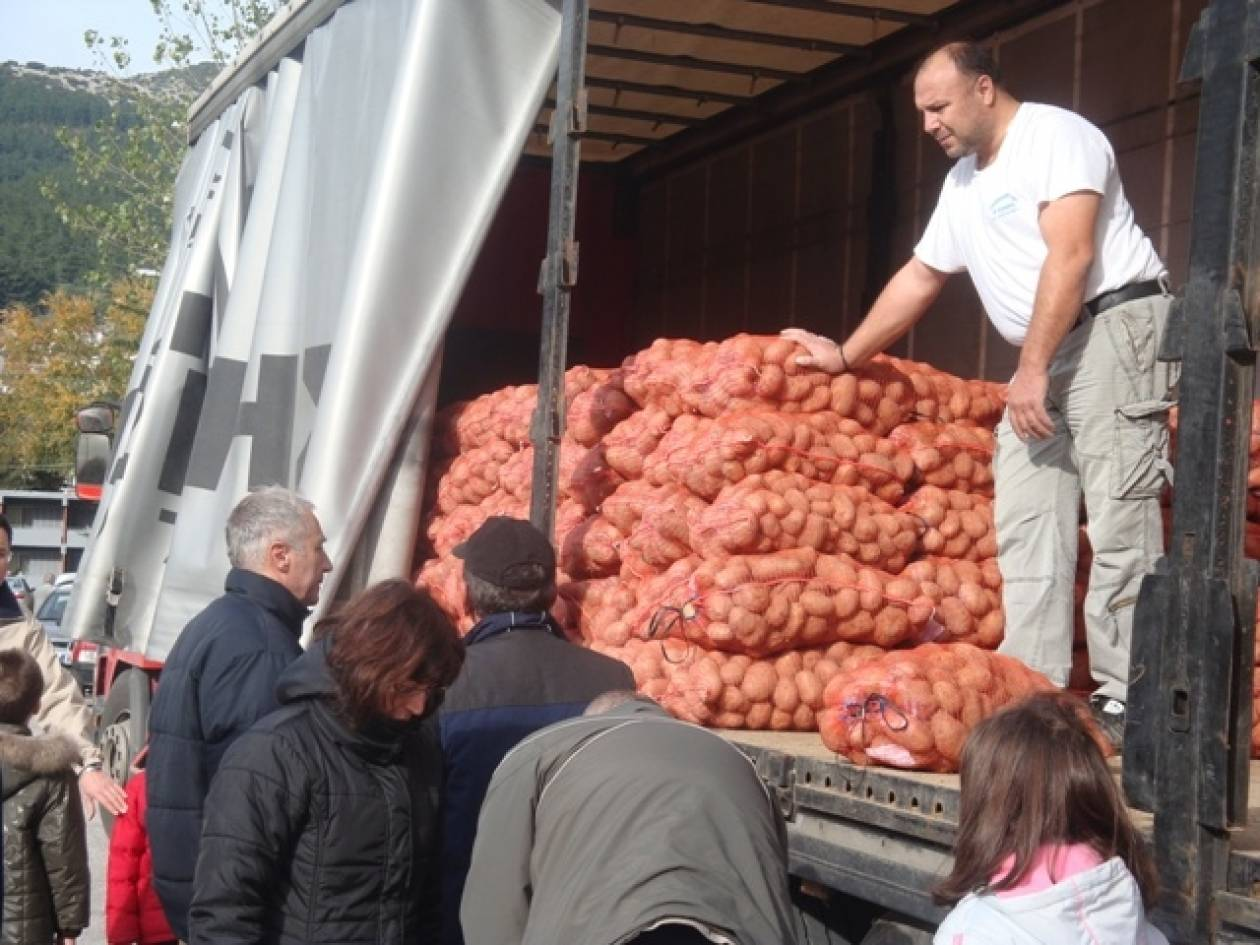 Bίντεο: Το κίνημα της πατάτας και του λαδιού επέστρεψε στην Ξάνθη