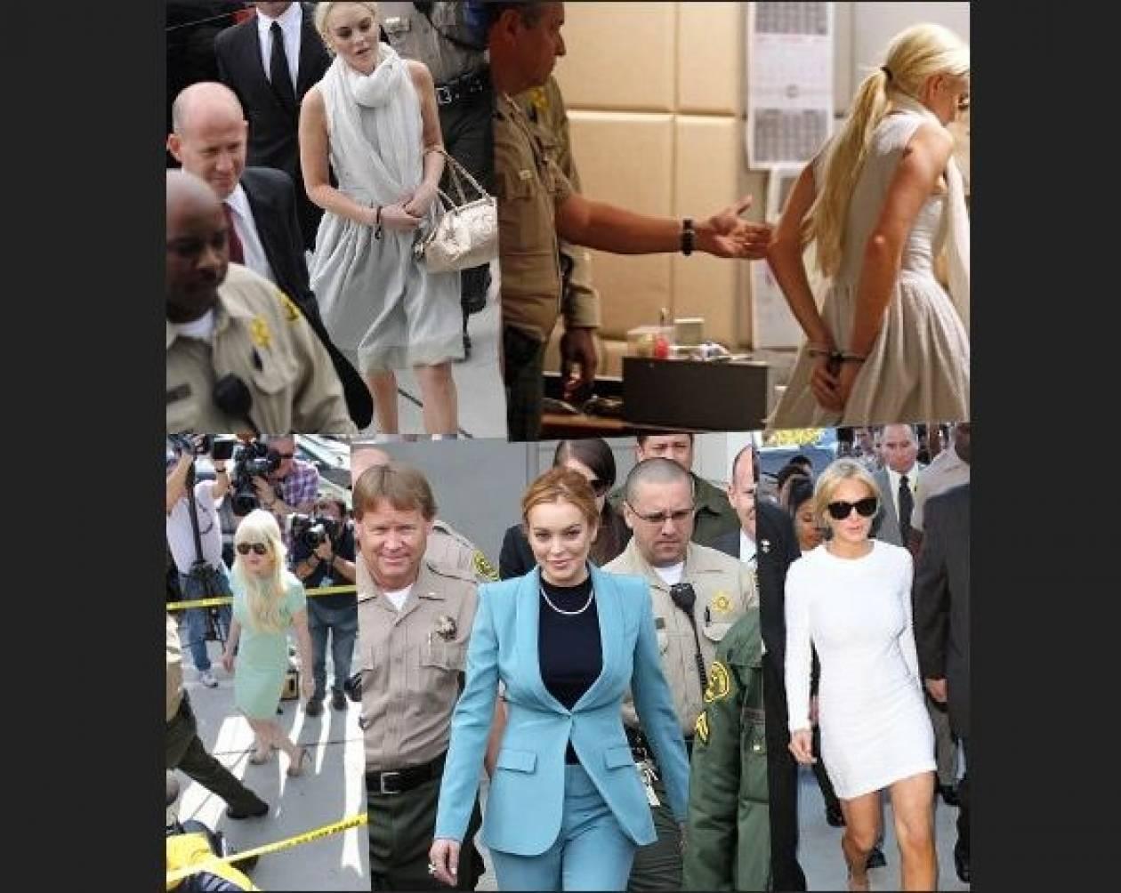 Lindsay Lohan: Οι αμέτρητες εμφανίσεις στα δικαστήρια